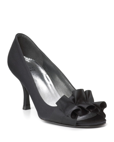 Stuart Weitzman Open Toe Evening Pumps - Gigiritz