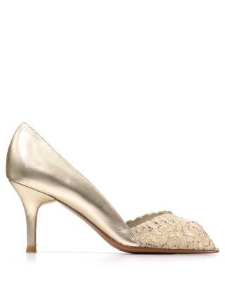 Stuart Weitzman Pumps - Chantelle Lace