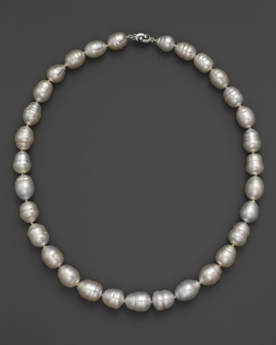 Tara Pearls White South Sea Cultured Circle Pearl Strand Necklace, 17
