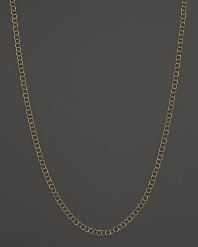 Temple St. Clair 18K Yellow Gold Small Round Chain, 18''