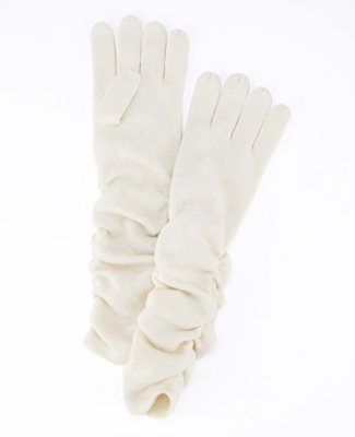 Ruched Gloves