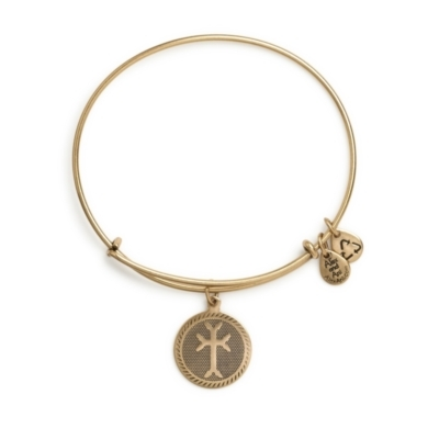 Armenian Cross Charm Bangle