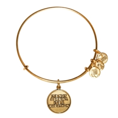 It's Not a Sprint Charm Bangle