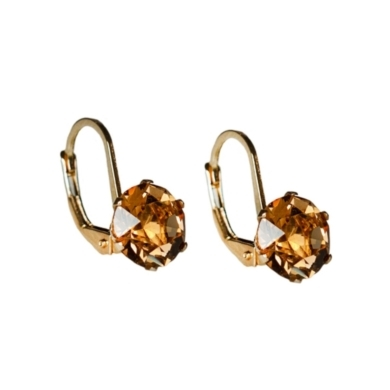 Light Topaz Clarity Earrings