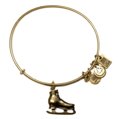 Team USA Ice Skate Charm Bangle