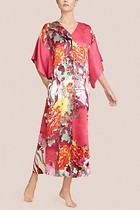 Watercolor Flower Caftan
