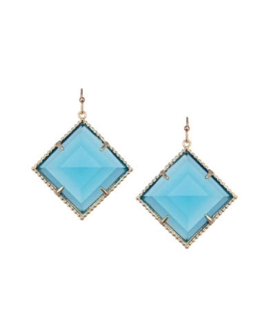 Scarlett Drop Earrings in Azure
