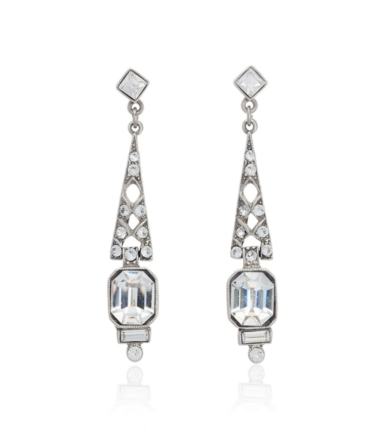 Ben Amun 1920s Style Divine Drop Earrings
