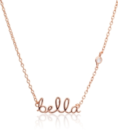 Shy by Sydney Evan Shy by Sydney Evan Bella Necklace Rose Gold