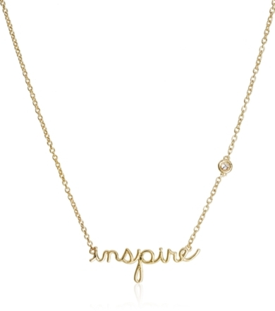 Shy by Sydney Evan Shy by Sydney Evan Inspire Necklace Yellow Gold