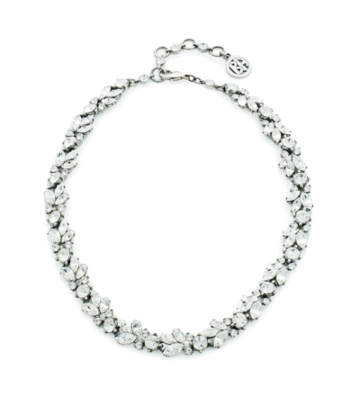 Marquise and Round Crystal Necklace