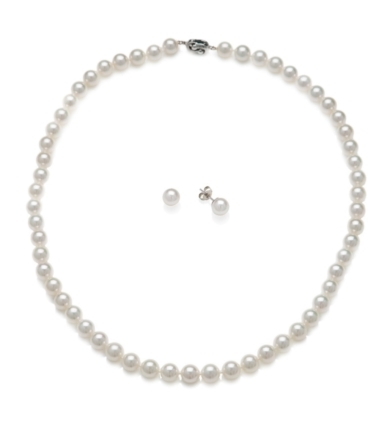 Pearl Set - Earring and Necklace
