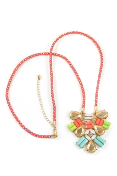 Bright & Sporty Necklace