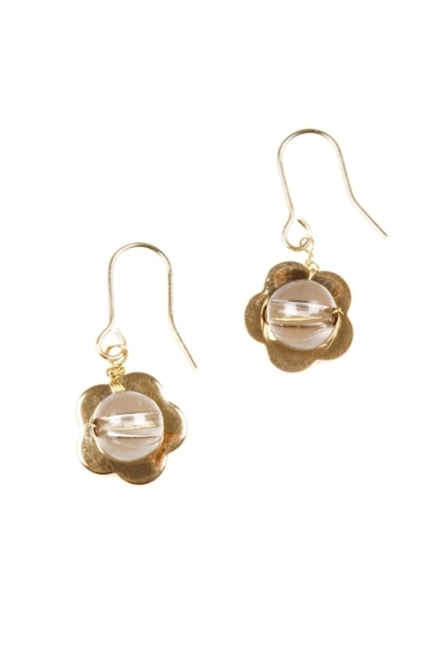 Poppy Gold-Plated Earrings