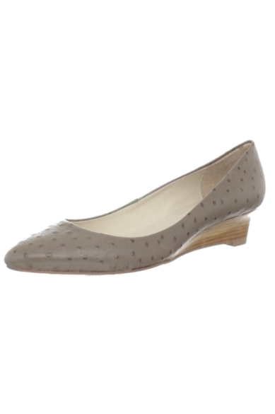 Taupe Pressed Wedge