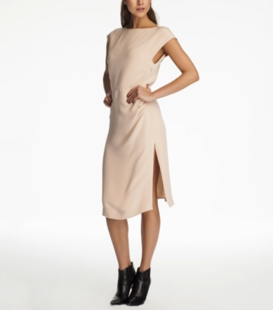 COCKTAIL DRESS WITH SIDE SLIT