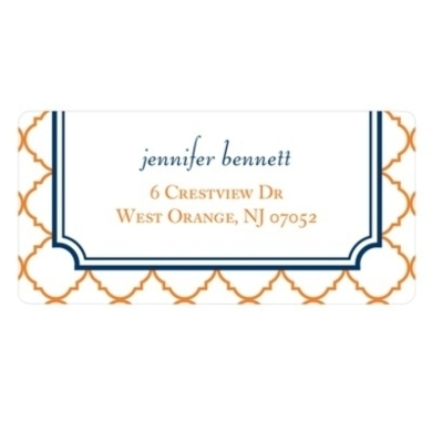 Classic Precision -- Personalized Wedding Address Labels