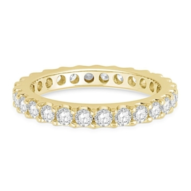 1 1/2 ct. tw. Prong Set Diamond Eternity Band in 14K Gold