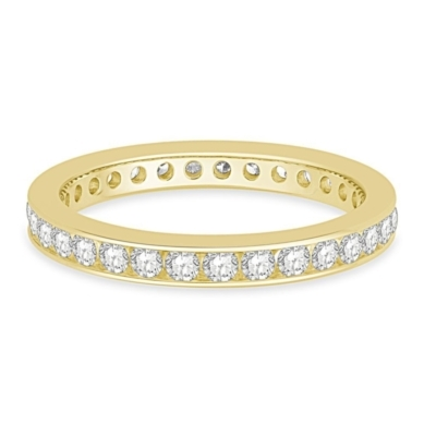 1 ct. tw. Channel Set Diamond Eternity Band in 14K Gold