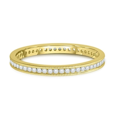 1/4 ct. tw. Channel Set Diamond Eternity Band in 14K Gold