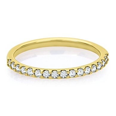 1/4 ct. tw. Prong Set Diamond Band in 14K Gold