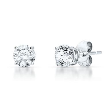 3/4ct TW Prima Diamond 4-Prong Studs