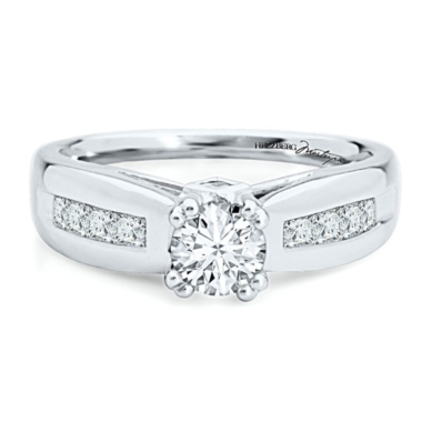 Diamond Masterpiece 1ct TW Engagement Ring in 18K Gold