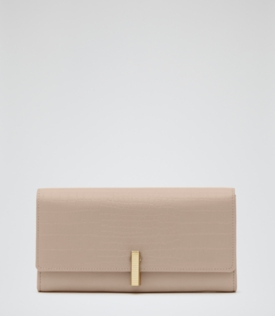 Reiss Buckley Textured Leather Wallet