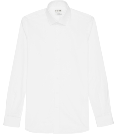 Reiss Driver Twill Cotton Shirt