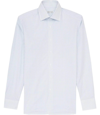 Reiss Gable Polka Dot Shirt
