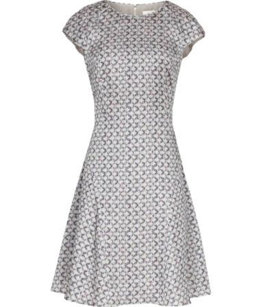 Reiss Skala Print Link Print Dress