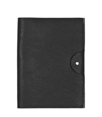 reiss william leather notepad