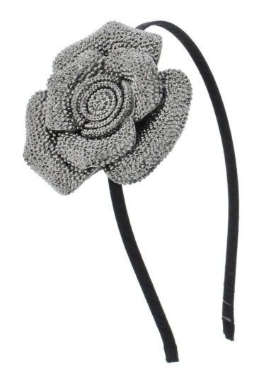 Cavier Textured 3D Flower Headband
