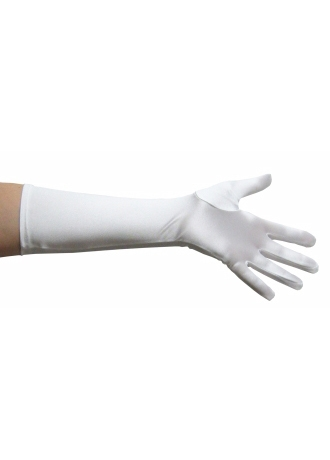 Greatlookz Satin Elbow Length Gloves