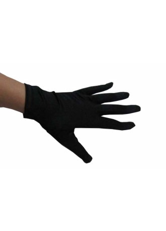 Greatlookz Satin Short Wrist Length Gloves