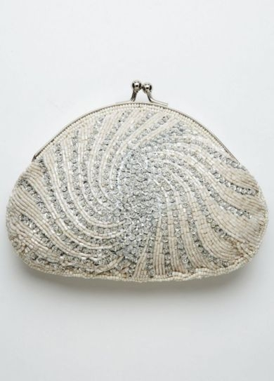 Jessica McClintock Bead and Sequin Handbag