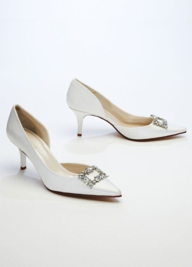 Wedding & Bridesmaid Shoes Caparros D Orsay Pump with Rhinestone Ornament