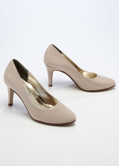 Wedding & Bridesmaid Shoes Mid Heel Closed Toe Pump