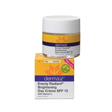 derma e Evenly Radiant Brightening Day Crme SPF15