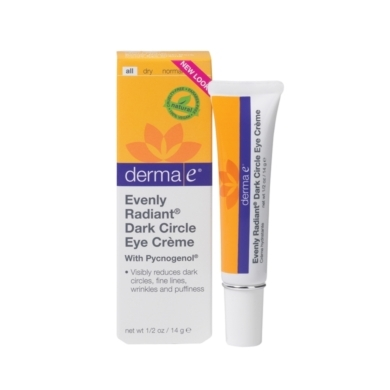 derma e Evenly Radiant Dark Circle Eye Crme