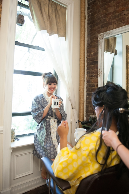 Morning-of Bridal Party Inspiration Shoot with Keurig (Plus a Keurig Brewer Giveaway!)