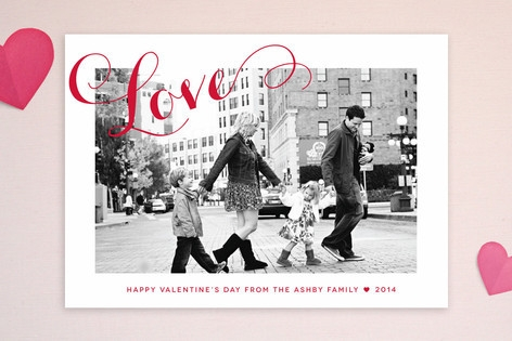 A Chic Love Valentine's Day Cards