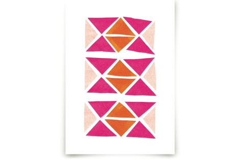 Abstract Brights Art Prints