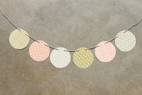 Arrowhead Pastels Circle Garlands