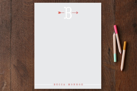 Arrowhead Personalized Stationery by Up Up Creativ...