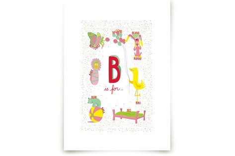 B is For Art Prints