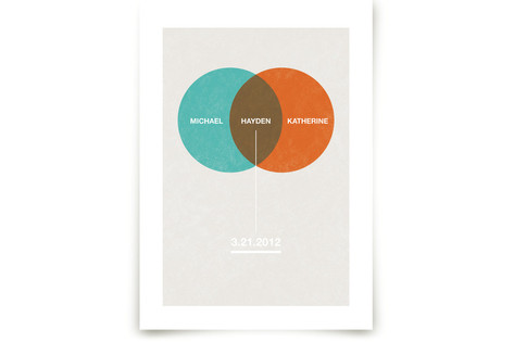 Baby Venn Diagram Art Prints
