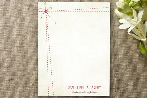 Baker's Twine Business Stationery Cards