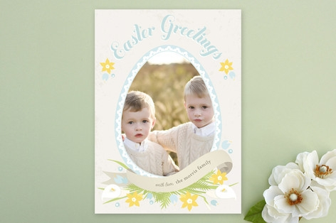 Banner and Bloom Easter Cards