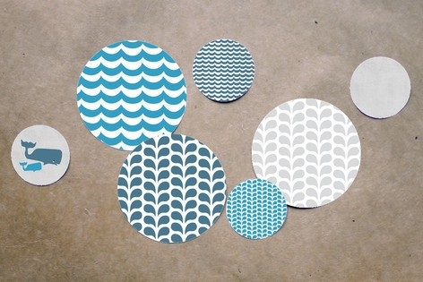 Big Whale Little Whale Table Confetti by Five Spar...
